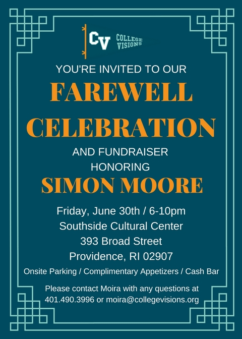 JOIN US AS WE HONOR SIMON'S LEGACY!!