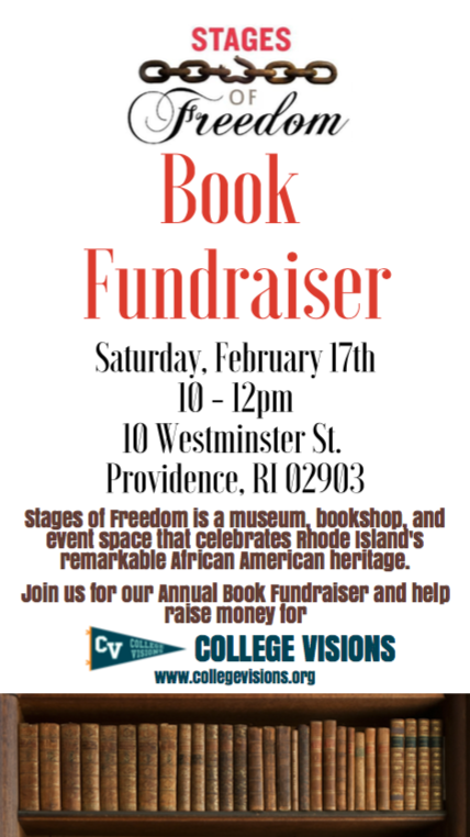 Book Sale Fundraiser For College Visions!!