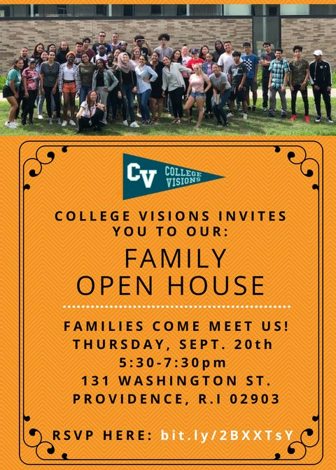 Join us for our Family Open House this Thursday!