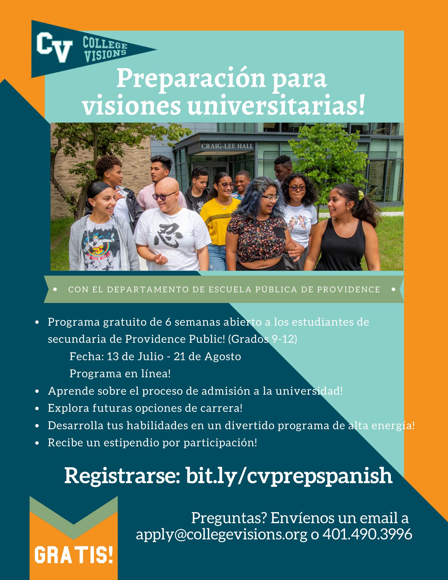 CV Prep 20 Spanish